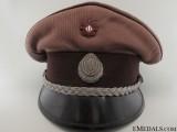 WWII Croatian Medical Army Officer's Visor Cap
