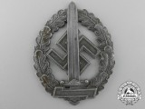 An SA-defense Badge for War Disabled by Werner Redo