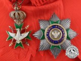 A Saxe-Weimar Order of the White Falcon; Grand Cross Set by Th. Müller Hofjuwelier Weimar