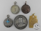 Five Argentinian Shooting Medals & Awards