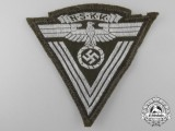 """An NSKK """"Old Fighters"""" Sleeve Insignia; RZM Control Tag"""
