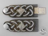 A Set of Waffen-SS  Gruppenführer General's Shoulder Boards