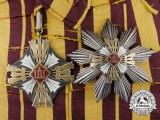 An Order of the Lithuanian Grand Duke Gediminas; 1st Class Grand Cross Set