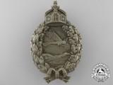A First War Prussian Pilot's Badge;  Unmarked Juncker