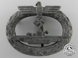A Kriegmarine Submarine War Badge; Unmarked