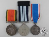 Three British Medals and Awards