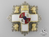 A Spanish Order of Military Merit; Breast Star
