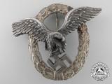 A Luftwaffe Pilot's Badge by Austrian Maker Brüder Schneider