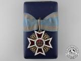 An Order of the Romanian Crown; Commanders Cross by J. Resch