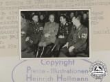 An Official Press Photo of Luftwaffe Ace Major Graf