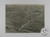 Three First War RAF Reconnaissance Photographs Taken on October 7, 1918