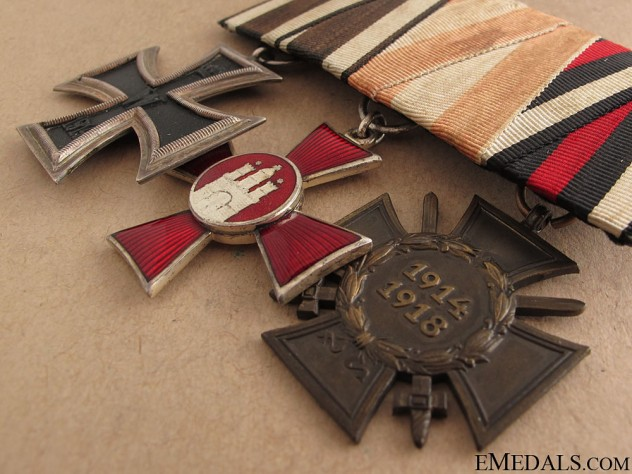 WWI Group of Three
