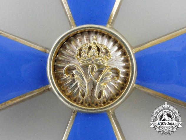 A Fine Brunswick (Braunschweig) Order of Henry the Lion; First Class by Hermann Jürgens