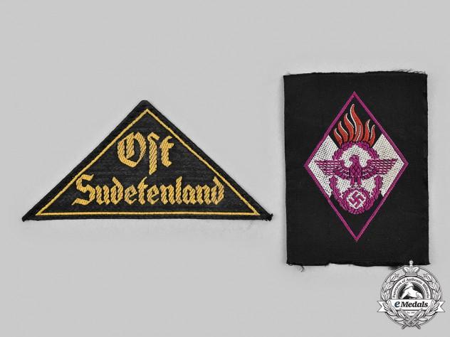 Germany, HJ. A Pair of Uniform Insignia