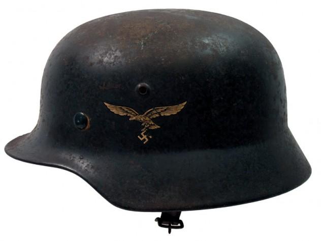 1935 Model Luftwaffe Double Decal Helmet.