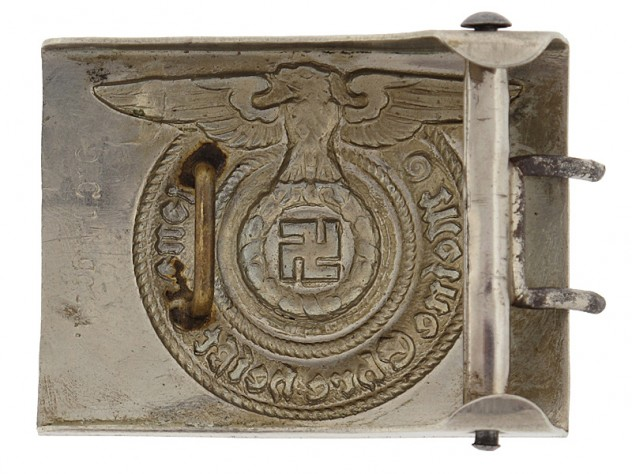 SS EM Belt Buckle by O and C
