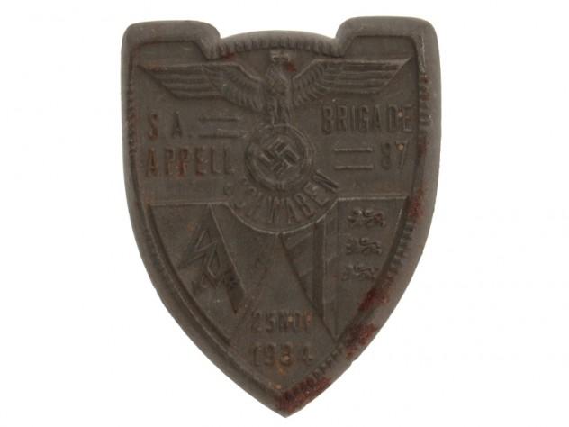 SA Appell Brigade Day Badge