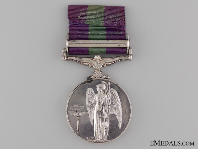 1962 General Service Medal to the Royal Signal Corps