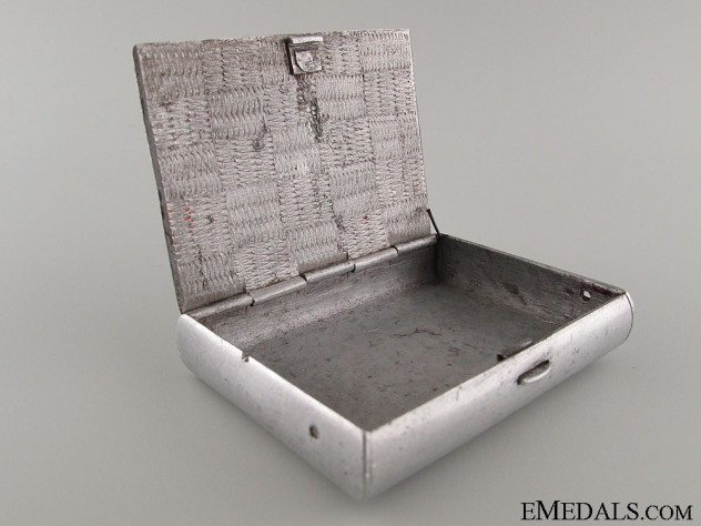 1st SS Panzer Div. Leibstandarte Cigarette Case