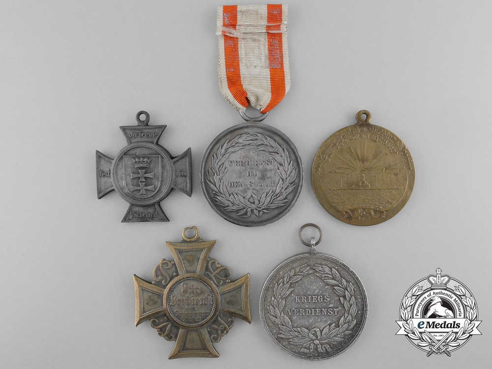 Five prussian medals decorations awards for Awards decoration