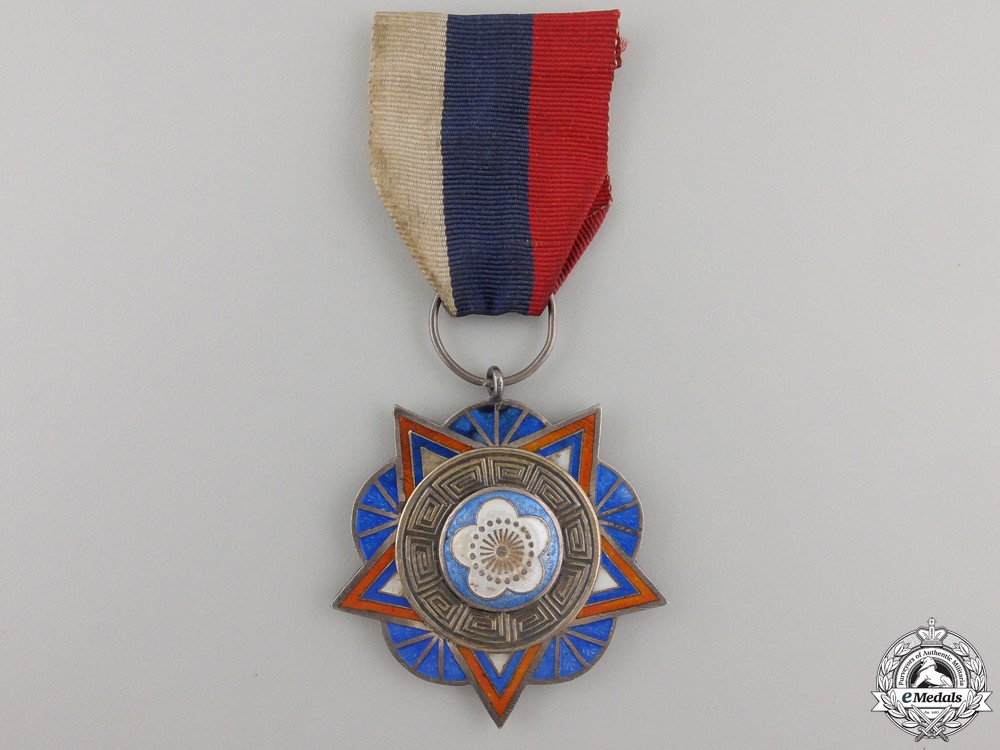 A rare 1930 39 s chinese army navy air force medal for Air force awards and decoration