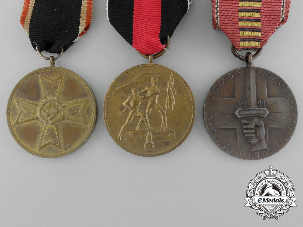 Three third reich german medals awards and decorations for Awards and decoration