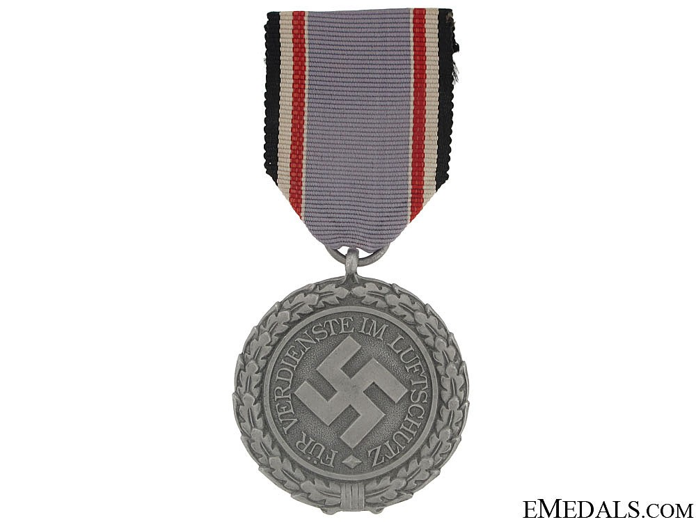 Air defense decoration 2nd class air protection rlb awards third reich civil medals for Air deco