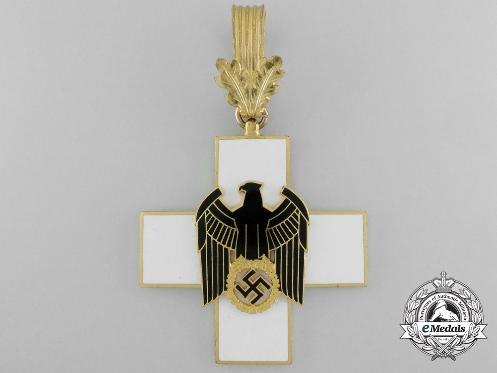 A german social welfare decoration first class by godet for Awards decoration