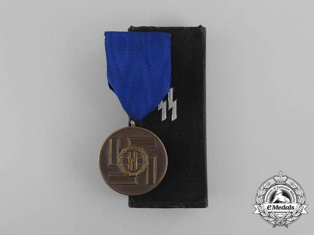 A Mint SS 8-Year Long Service Award In Its Original Case