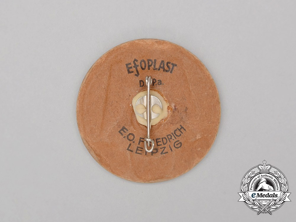 Bb Augsburg a 1937 15 years of nsdap in augsburg badge by e o friedrich of leipzig