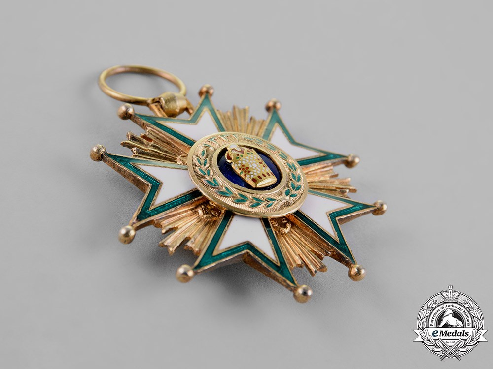 Iran qajar dynasty an order of the crown 5th class knight for House of dynasty order online