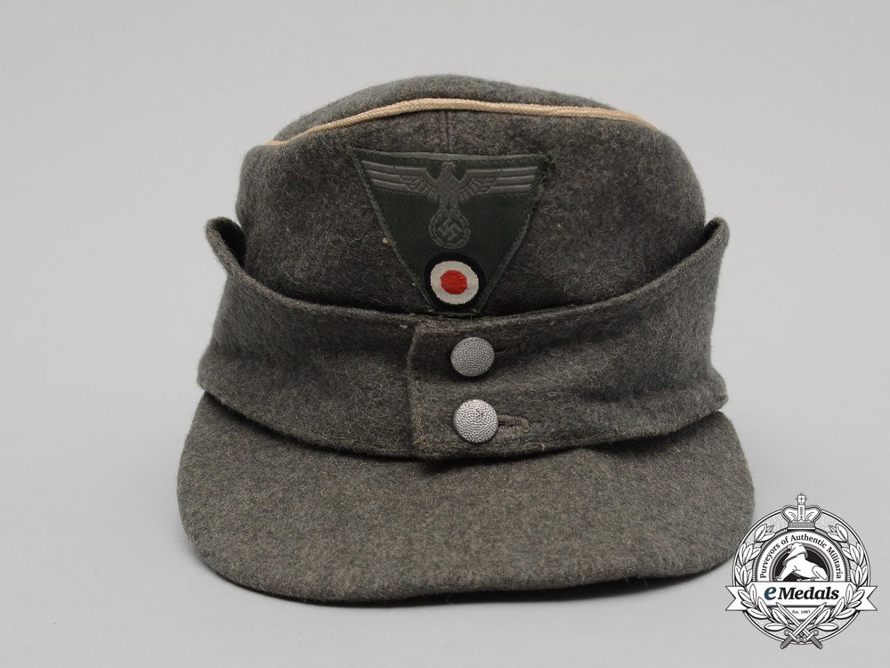 A Wehrmacht Heer Army M43 Officer S Field Cap