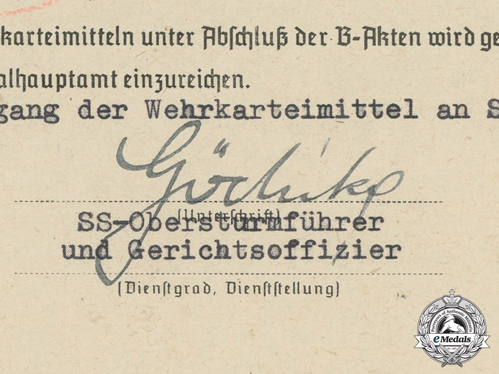 how to write german ss letter