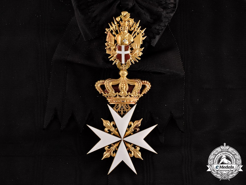 Austria Empire An Order Of The Knights Of Malta In Gold Grand