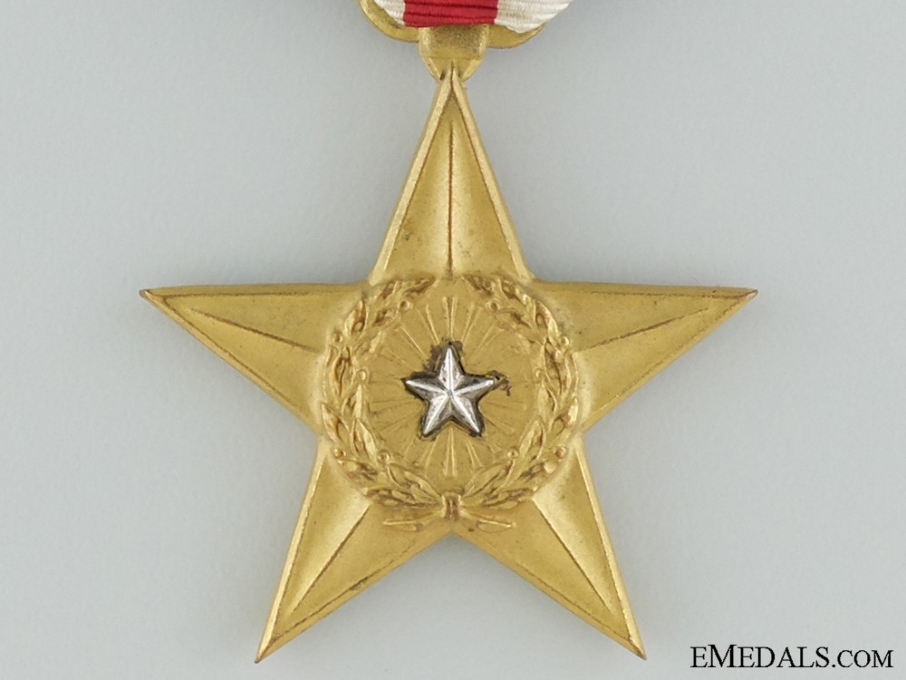 a second war american silver star  named