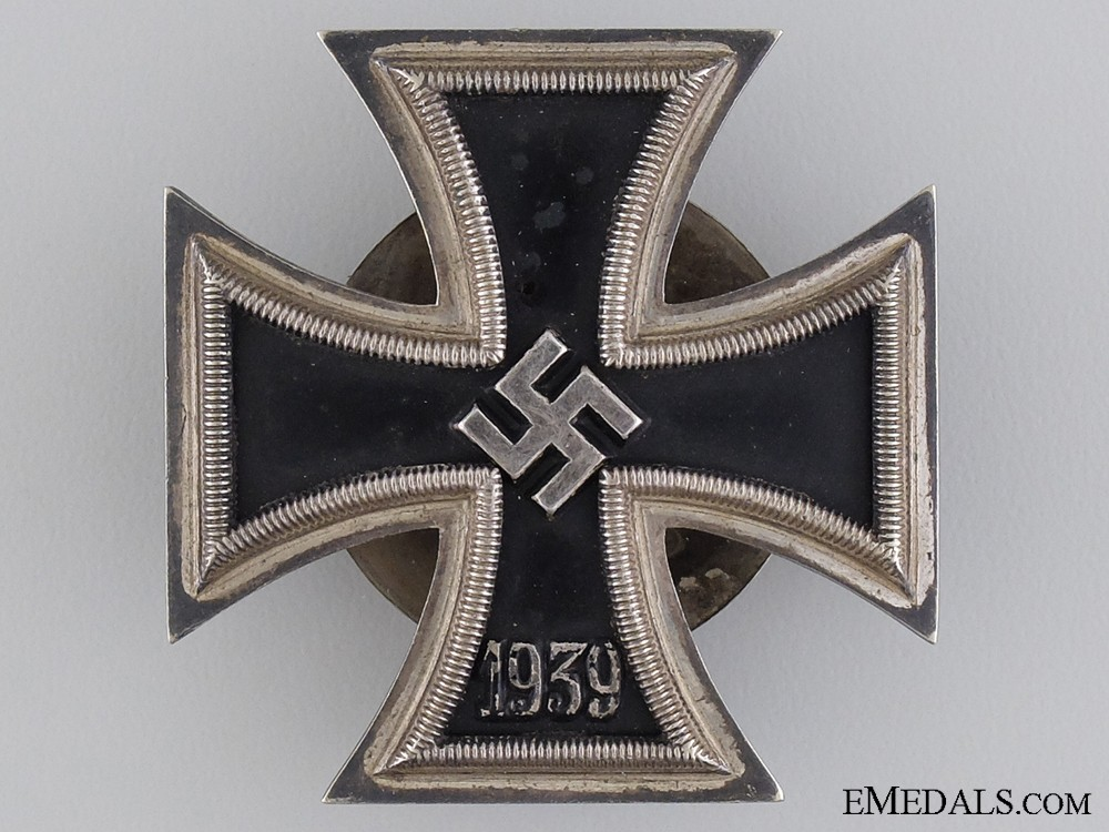 I Is For Iron ~ Iron cross st class marked l